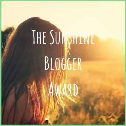 The Sunshine Blogger Award x3